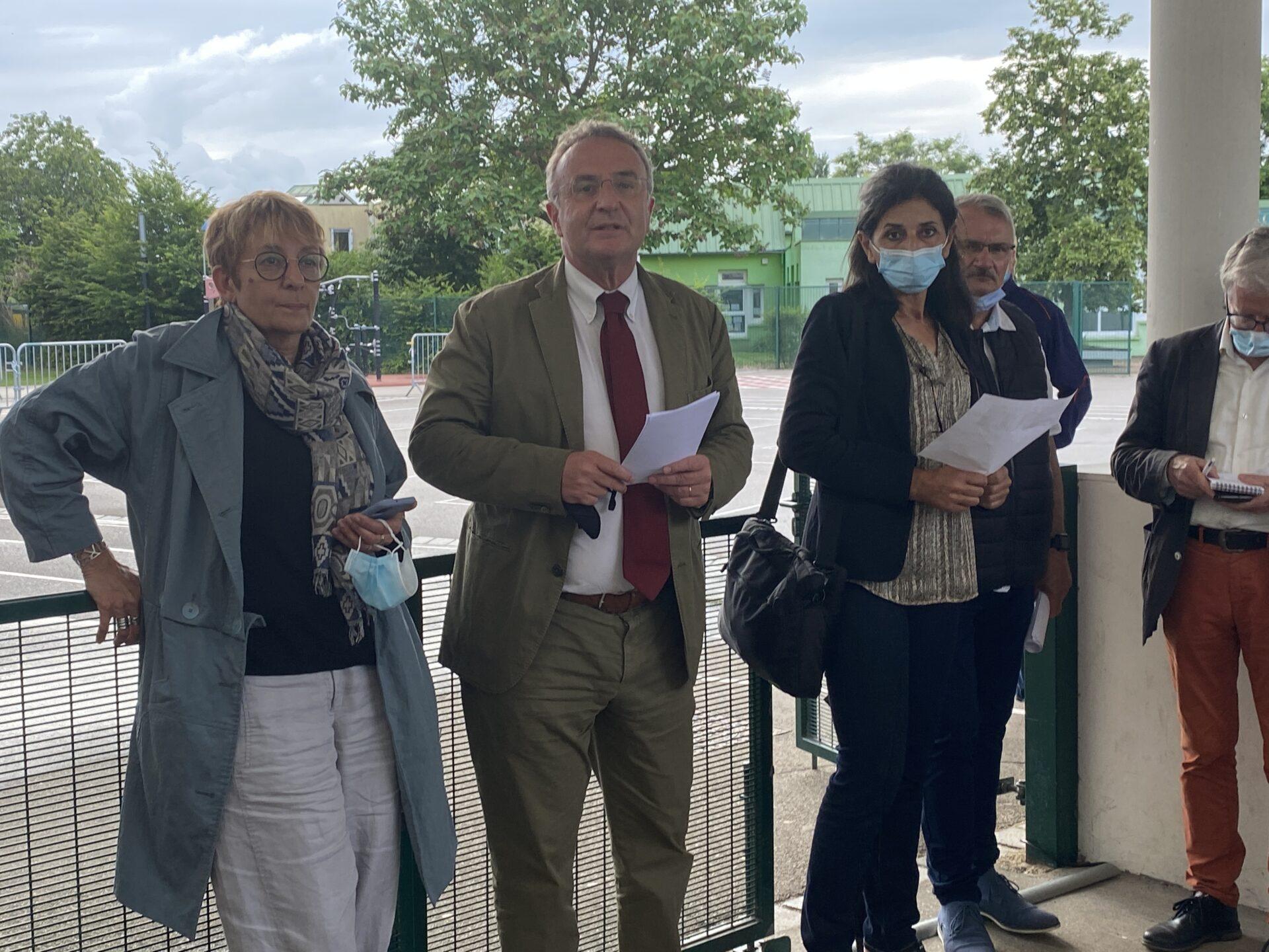 Elections départementales : victoire de Marc-Antoine Jamet et Janick Léger