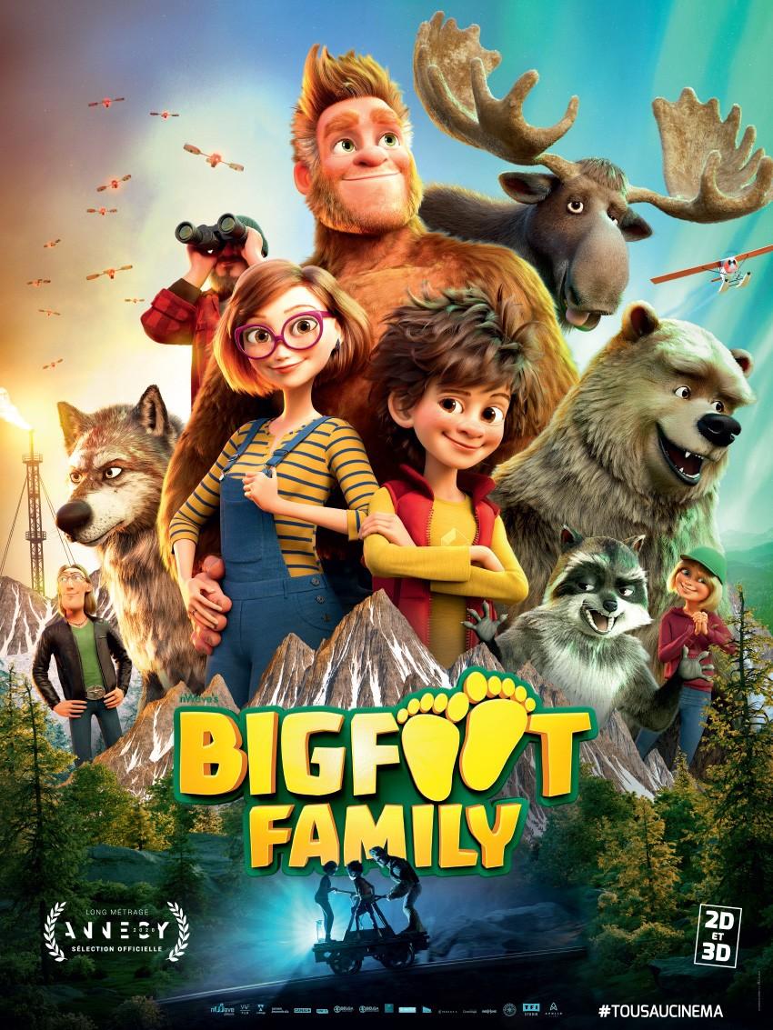 "Festival Cin'été : ""Bigfoot Familly"""