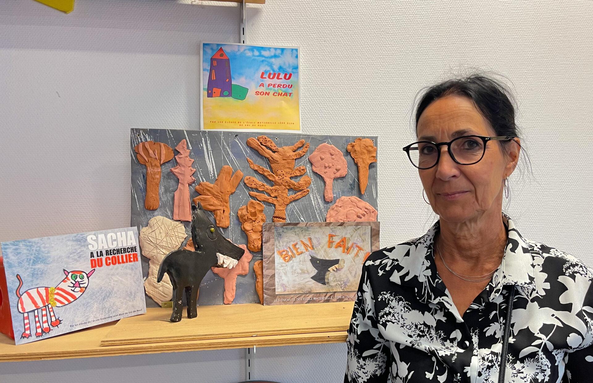 Après 33 ans à Léon Blum, la directrice de l'école tire sa révérence