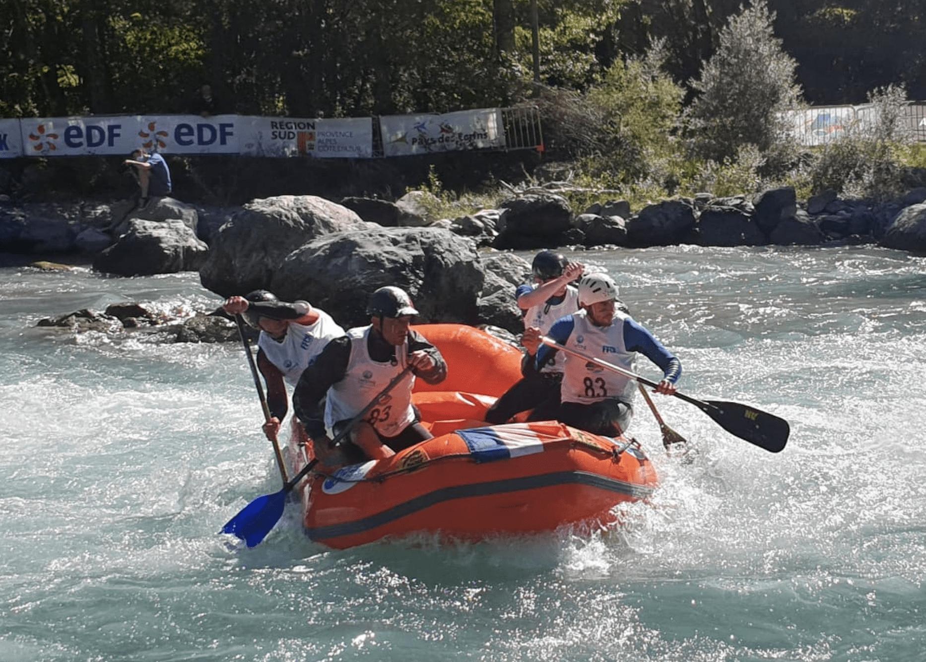 Deux rolivalois aux championnats du monde de Para-Rafting !