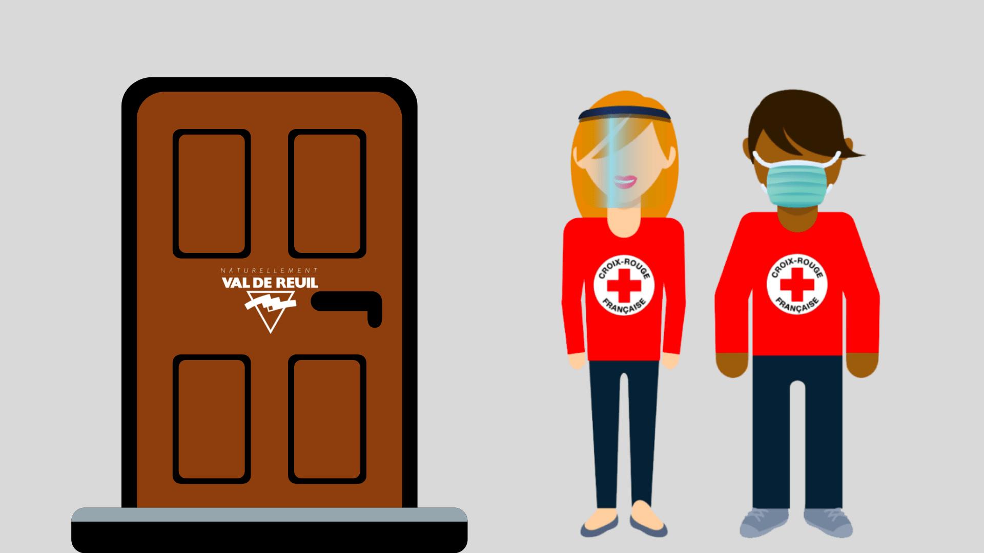 La Croix-Rouge française vient à la rencontre des Rolivalois