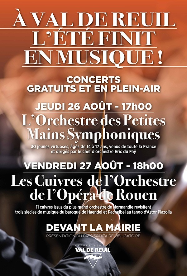 A Val-de-Reuil : L'été se finit en musique