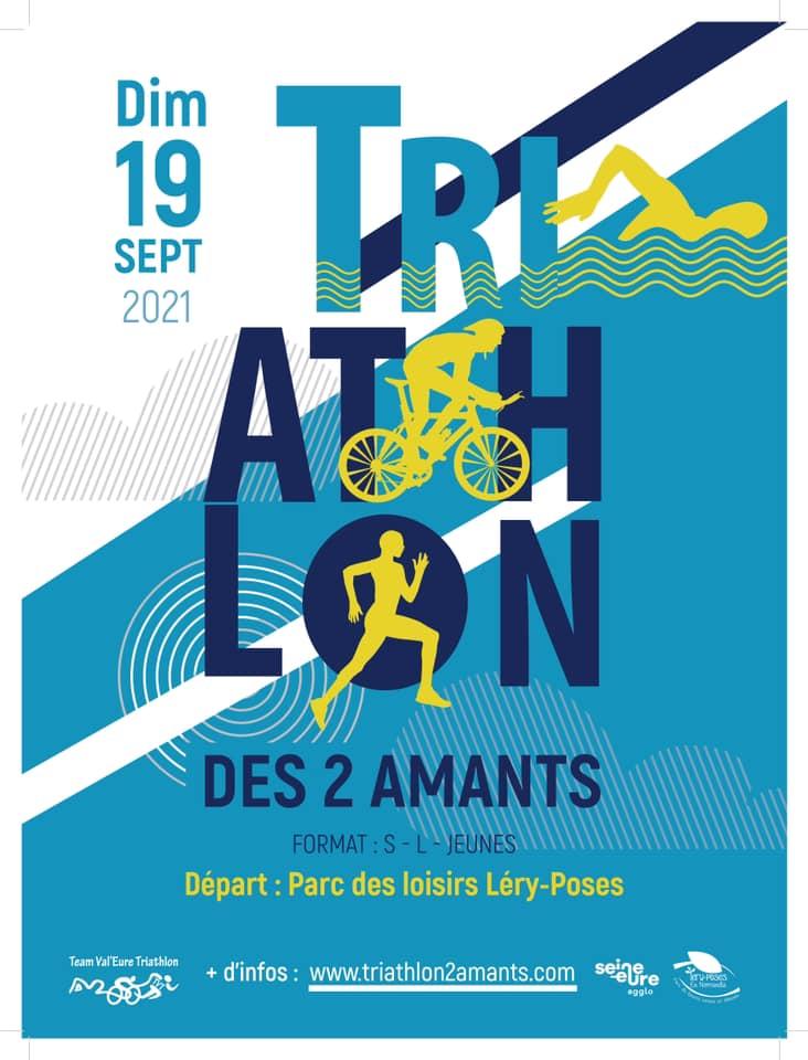 Venez encourager les cyclistes du Triathlon des 2 Amants ce dimanche 19 septembre !