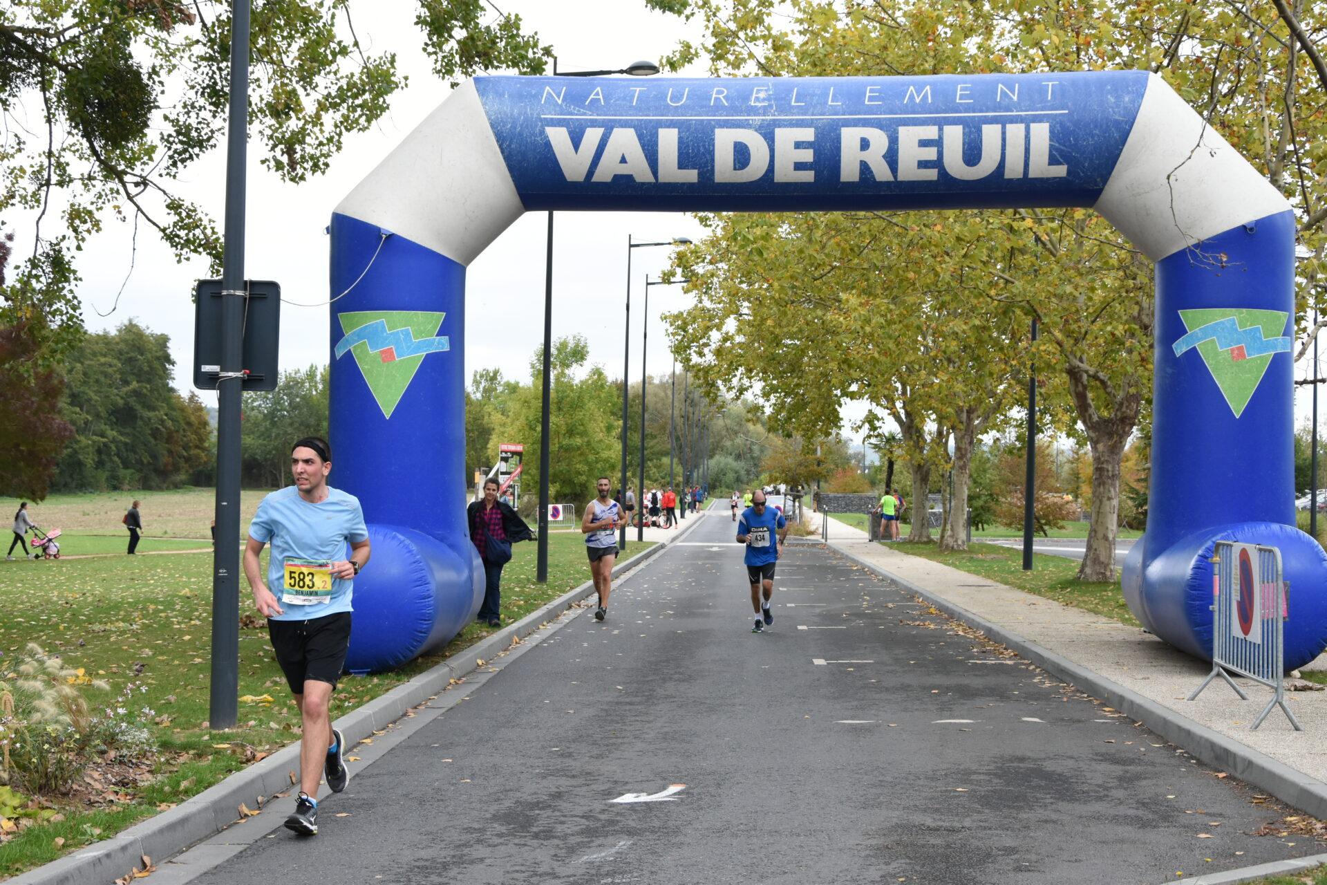 Tous sur la ligne d'arrivée du marathon Seine-Eure dimanche !