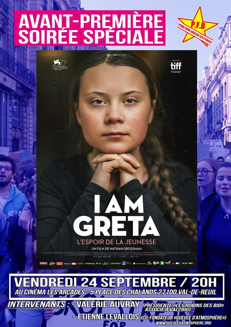 """Cinéma Les Arcades : Soirée spéciale """"I'm Greta"""""""