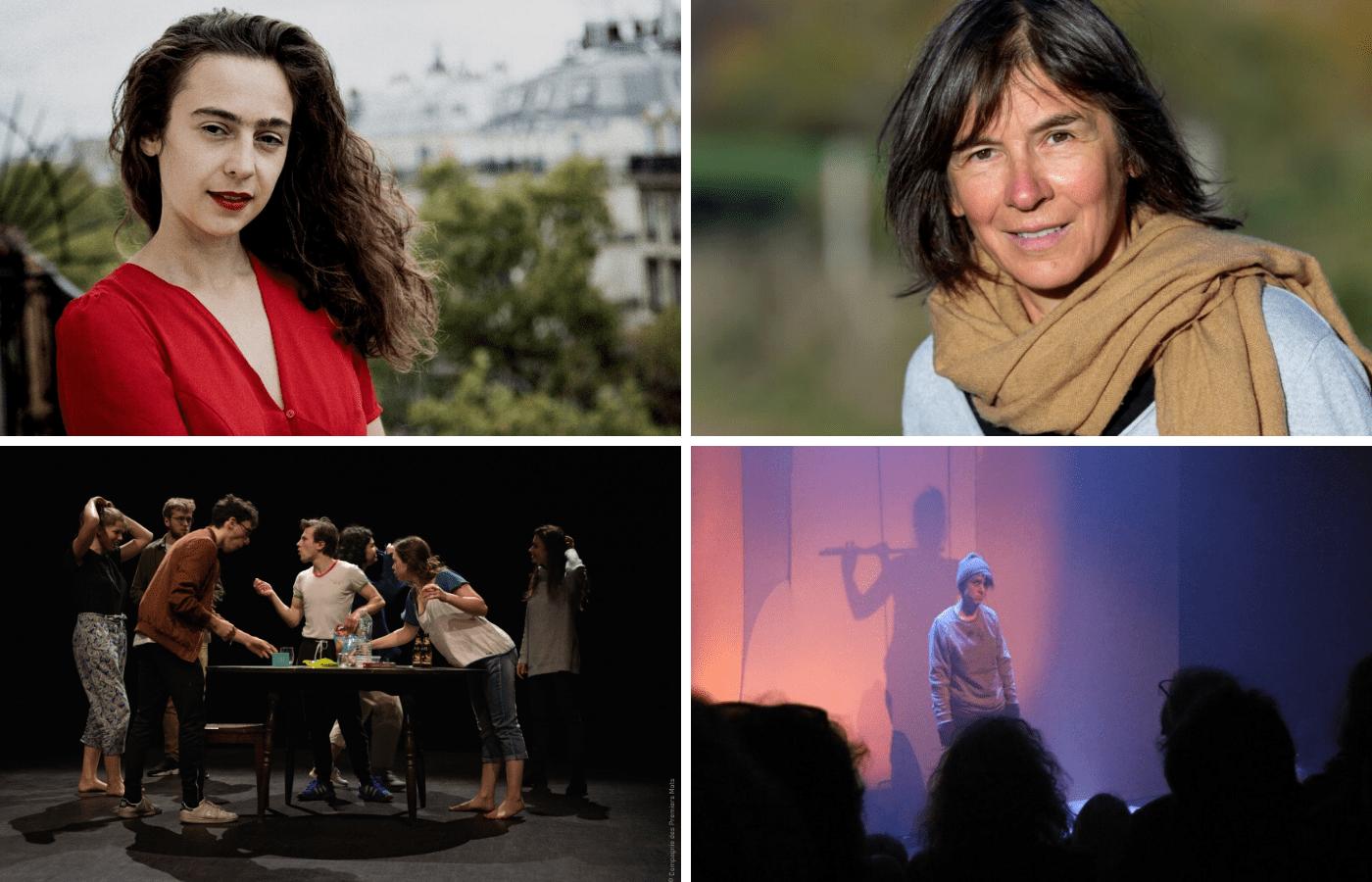Les Soirées poétiques de la Factorie : La Cie des Premiers Mots / La Youle Cie / Zoé Besmond de Senneville / Violaine Bérot
