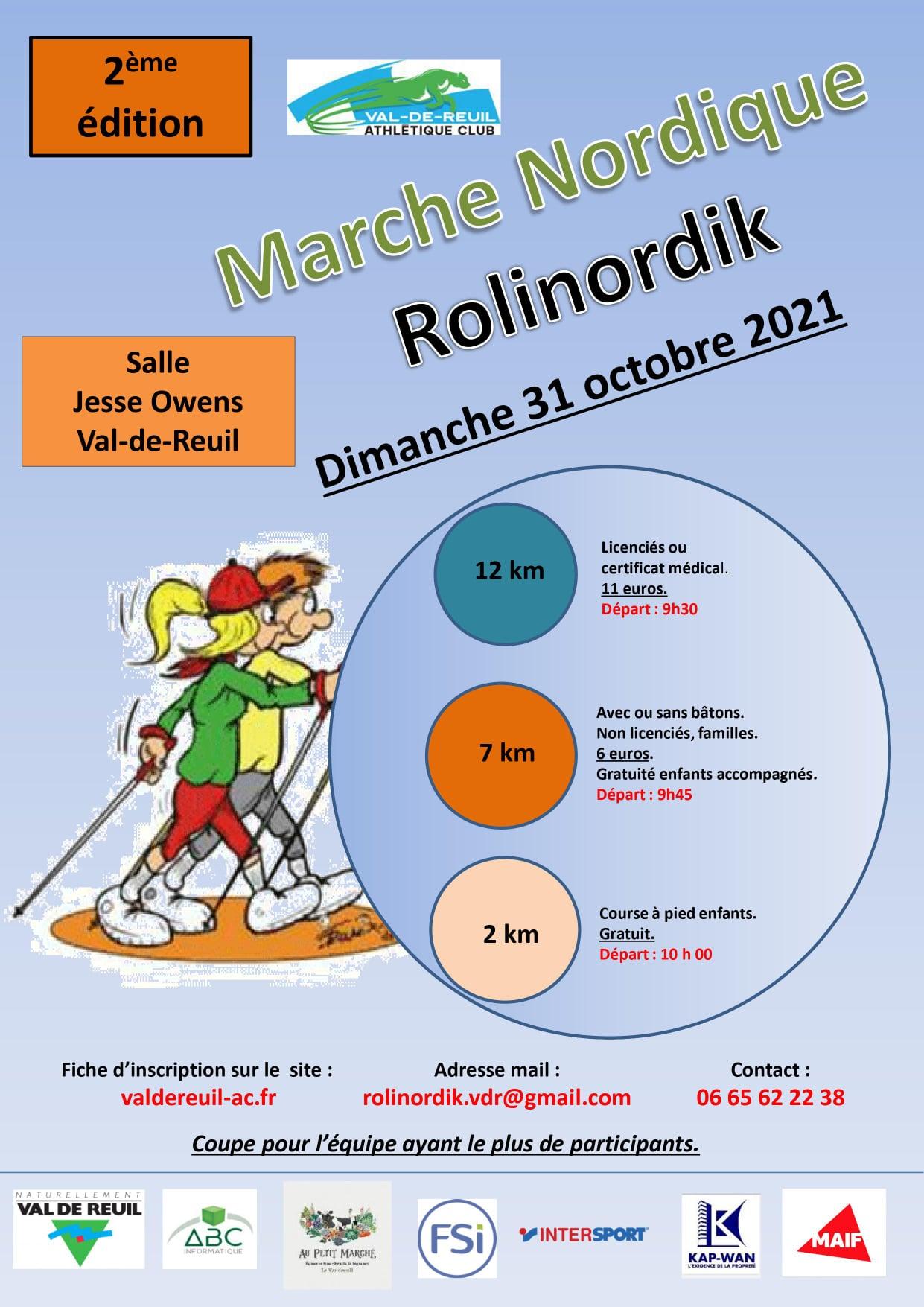 Athlétisme : 2ème édition Rolinordik