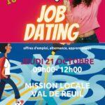 Job dating octobre 2021