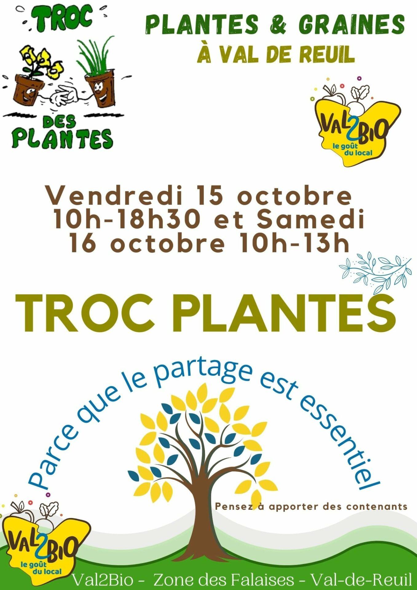 Val 2 Bio : Journée Troc plantes