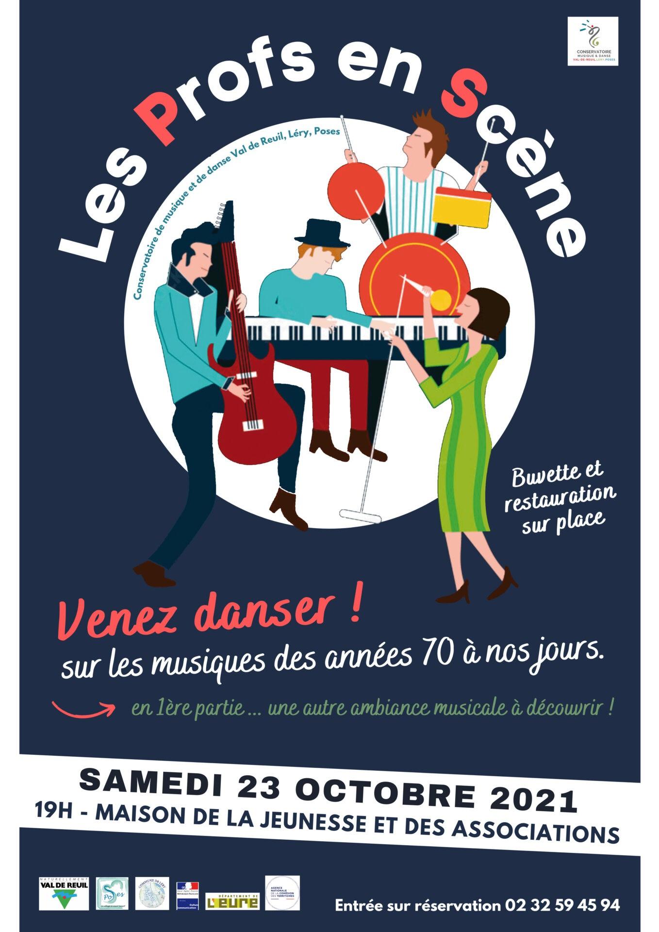 """Conservatoire de Musique et de Danse : """"Les profs en Scène"""""""