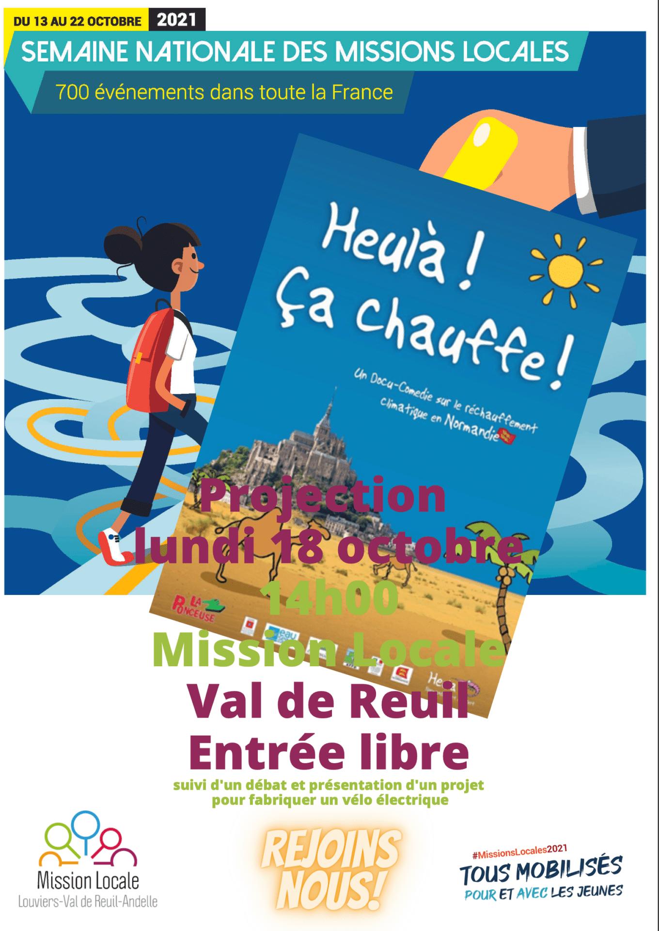 "Semaine nationale des Missions Locales 2021 : ""Heulà ! Ça chauffe !"""