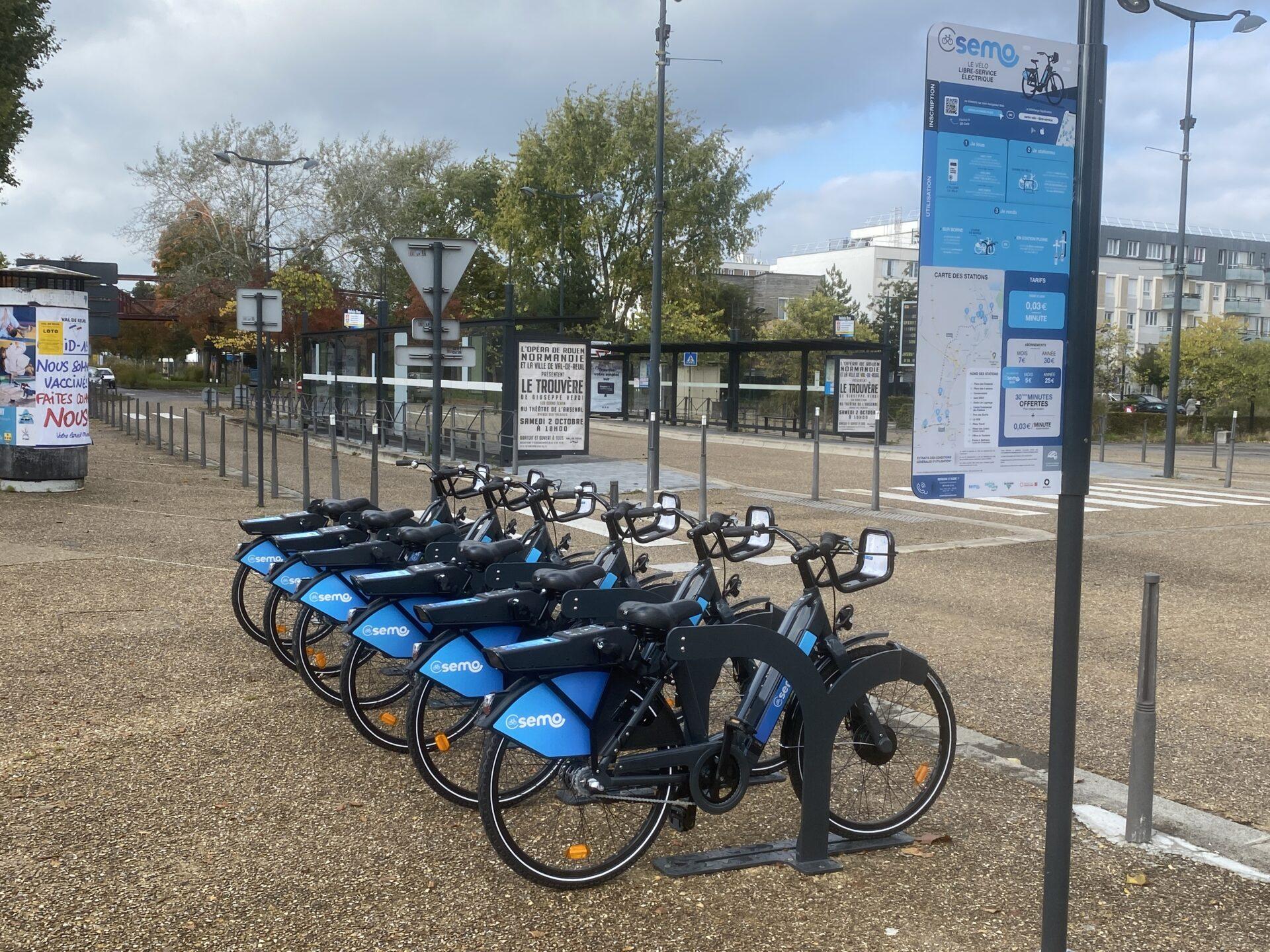 37 vélos électriques en libre-service pour les Rolivalois