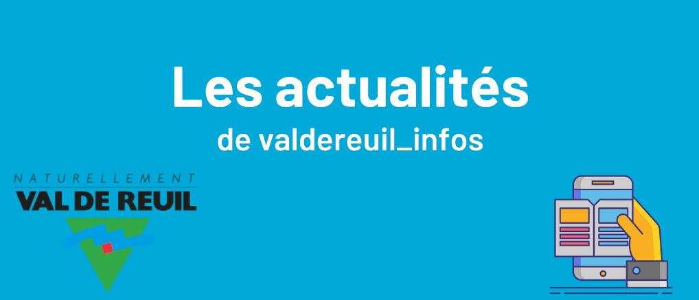 Les actualités de valdereuil_infos