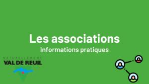 Les associations - informations pratiques
