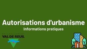 Autorisations d'urbanisme - informations pratiques